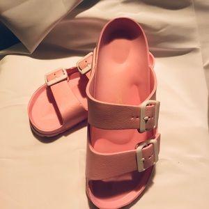 Shoes - Pink bubble gum sandal